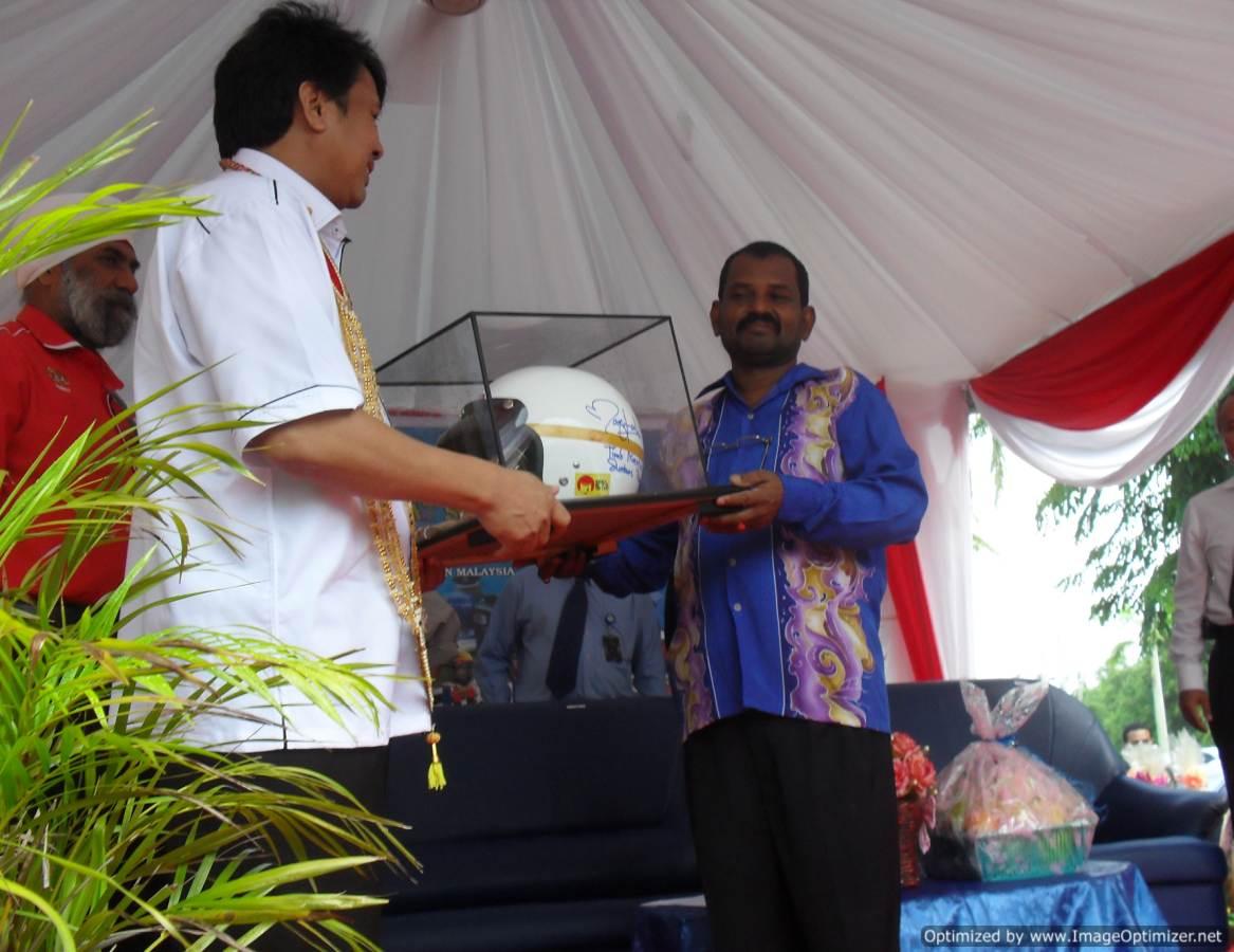 Bersama Timbalan Menteri Penga