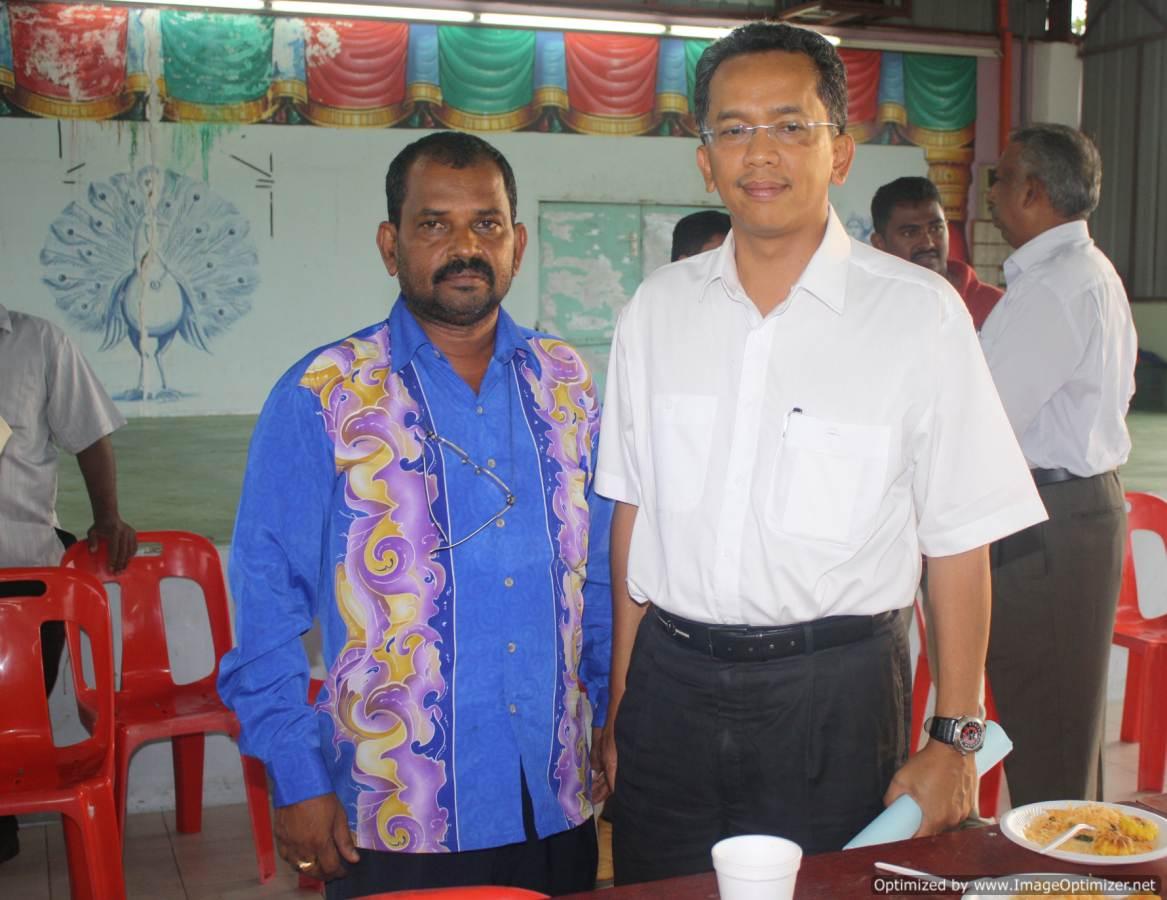 Bersama Menteri Kerja Raya