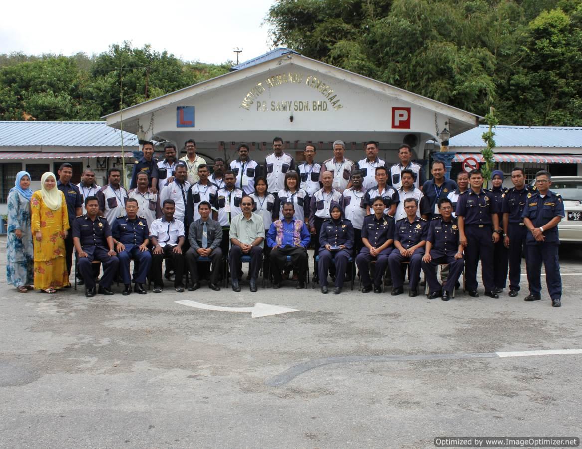 Bersama Pengarah jpj Selangor