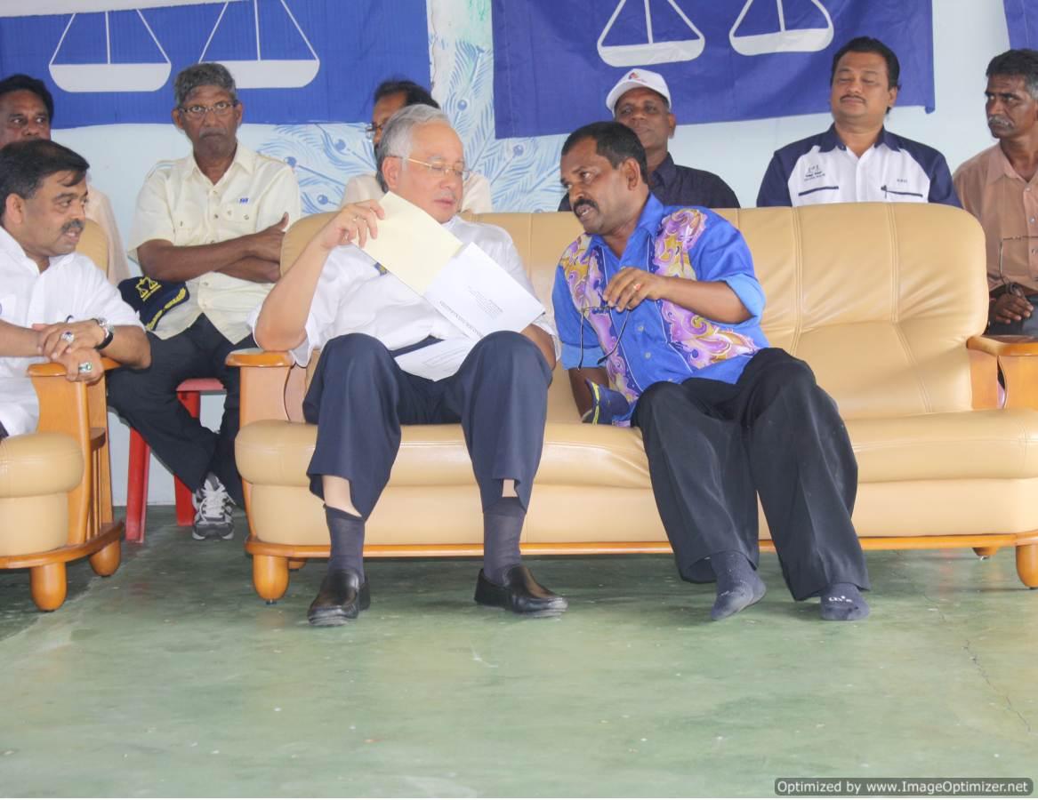 Bersama Perdana Menteri Malays